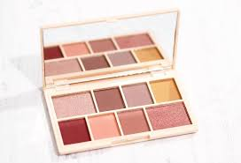 rose gold mini eyeshadow palette review