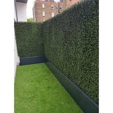 E Joy 2 Ft H X 2 Ft W Artificial Hedge Plant Privacy Fencing Wayfair