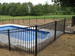 Metal Fences Chicago Aluminum Fence Contractors Rustic Fences