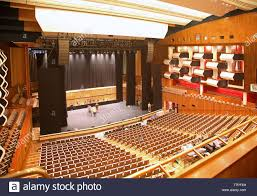 Interior of the Royal Festival Hall ...