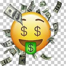 emoji money bag emoticon png clipart
