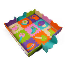 China Non Toxic Kids Foam Play Mat With Fence Activity Puzzle Mats For Babies China Play Mat And Rubber Mat Price