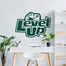 Level Up Wall Decal Moonwallstickers Com