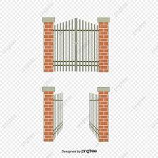 Grafico De Puerta Abierta Puerta De Vector Diagrama De Vector De