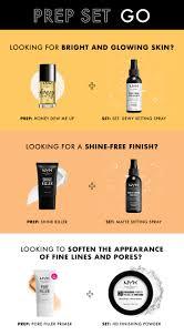 nyx professional makeup make up setting