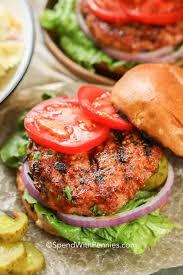 easy turkey burgers juicy moist