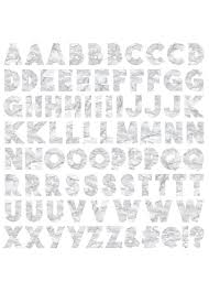 Marble Letters Xl Stickers Idecoz
