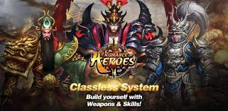 romance of heroes game
