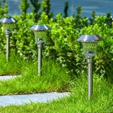 light solar power path lights led