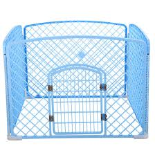 China Foldable Pet Fence Dog Cat Iron Fence Pet Sports Training Security Door Puppy Kitten Nest Indoor Outdoor Protection Door Pte China Dog Cage And Pet Fence Price