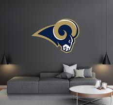 Los Angeles Rams Logo Wall Decal Egraphicstore