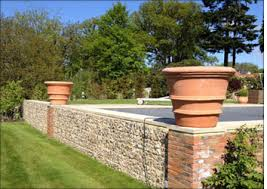 large terracotta pots and planters