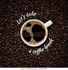 quote coffee cup on coffee bean stock photo edit now