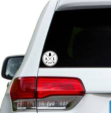 Alabama Arrow Year Car Window Decal Sticker