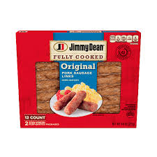 fully cooked sausage links jimmy dean