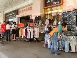 garment markets in guangzhou business