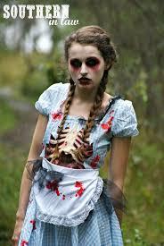 step by step halloween zombie look tutorial
