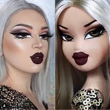 makeup challenge bratz dolls