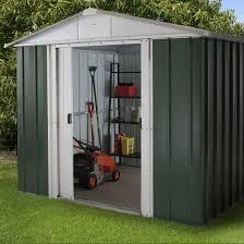 9x8 metal garden sheds yardmaster shed