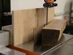 bandsaw resaw fence how to stone