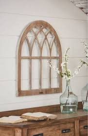 diy fixer upper cathedral window frame