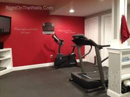 Home Fitness Center Gym Wall Decals Vinyl Art Stickers