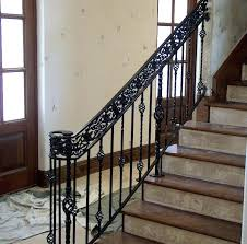Iron Railing Design For Stairs Exterior Wrought Designs Contemporary Ornamental Fence Gates Home Elements And Style On Balustrade Stair Railings Crismatec Com