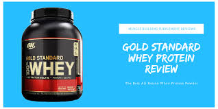 the ultimate gold standard whey review