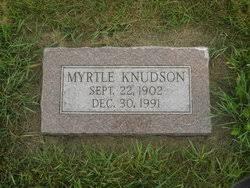Myrtle Olson Knudson (1902-1991) - Find A Grave Memorial