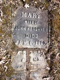 "Anna Maria ""Mary"" Driesbach Kershner (1792-1860) - Find A Grave Memorial"
