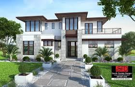 modern mansion single story
