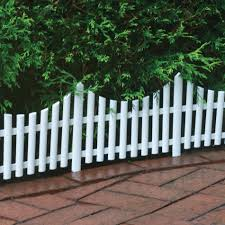 Upc 072358021402 Picket Fence Style Decorative Fencing White Border Edging 13 X24 Sections Upcitemdb Com
