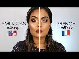 tutorial french makeup vs american