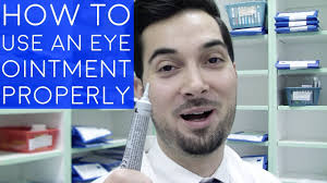 how to use eye ointment how to apply