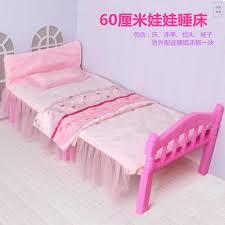 Bộ Giường Ngủ Cho Búp Bê Barbie Cỡ Lớn 60cm giảm chỉ còn 287,000 đ
