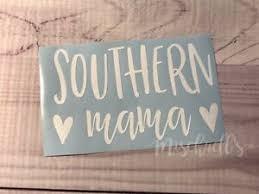 Southern Mama Car Decal Yeti Decal Vinyl Sticker Heart M1017 Ebay