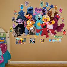 Fathead Realbig Sesame Street Group Wall Decal Wayfair
