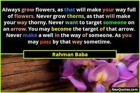 best rahman baba quotes