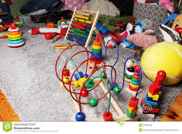 Toys In Kids Room On The Floor Stock Image Image Of Mess Baby 50166433
