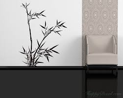 Bamboo Wall Decal Vinyl Tree Art Stickers