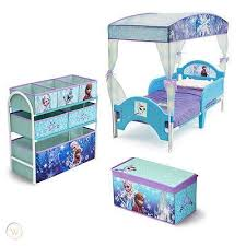 Disney Frozen Room Box Toy Organizer Bins Toddler Canopy Bed And Trunk Elsa Anna 508042133