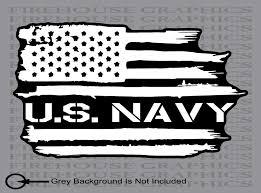 Us Navy Usn American Flag Weathered Vinyl Sticker Decal Ebay Vinyl Sticker American Flag Weathered