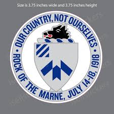 1st Battalion 30th Infantry Regiment Army Window Decal Bumper Sticker