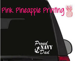 Proud Navy Dad Vinyl Decal Car Window Sticker Family Life Father Son Daughter 8 Car Truck Graphics Decals Motors Tamerindsa Com Ar