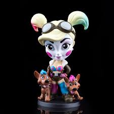Blue Pink Harley Quinn Dc Lil Bombshells Vinyl Figure Cryptozoic Con Exclusive Cryptozoic Entertainment