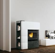 contemporary fireplace surround cork