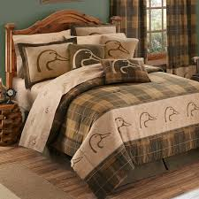 ducks unlimited plaid bedding