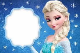 Frozen Tarjetas O Invitaciones Para Imprimir Gratis Con
