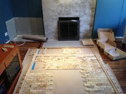 diy stone veneer over brick ideas
