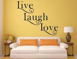 Live Laugh Love Decal Inspirational Love Quote Inspirational Wall Inspirational Wall Signs